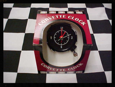 1968, 1969,1970,1971 New Corvette Clocks