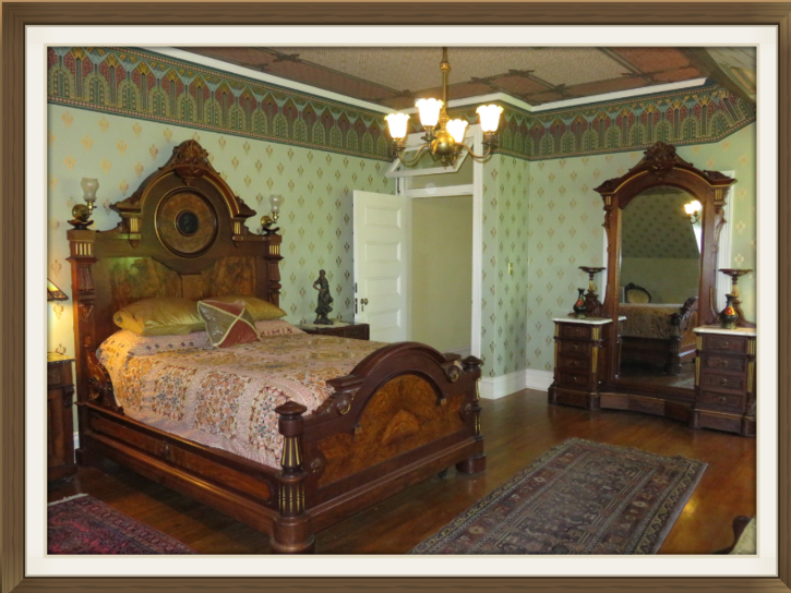 The Governess' Quarters, a Bed and Breakfast room at Rockcliffe Mansion, Hannibal Missouri