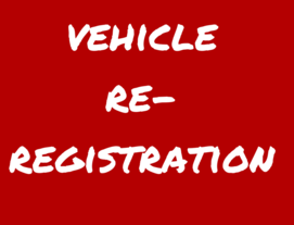 vehicle re-registartion