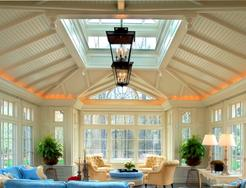 Conservatory interior decor Renaissance Conservatories