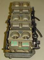 Used carburetors for a 1988 Mercury 200 hp outboard motor. 1374-8242A7, A29, A8, A30, A31
