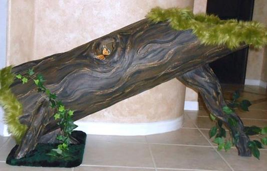 Fallen Tree Pet Ramp