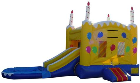 Water slides combo jumper water slide bounce houses combo water slide
