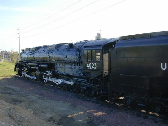 Union Pacific Big Boy No. 4023 at Omaha, Nebraska, ca. 2008.