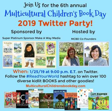 #ReadYourWorld 2019 Twitter party and more