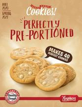 Crazy About Cookies Perfectly Preportioned Fundraiser Brochure