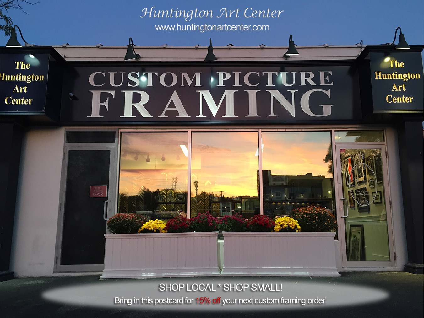 Huntington Art Center - Custom Picture Framing, Picture Hanging ...