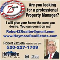 Real Estate Press, Southern Arizona, Robert Zazueta, Haymore Real Estate