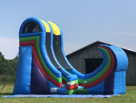 huge water slide rental athens tn
