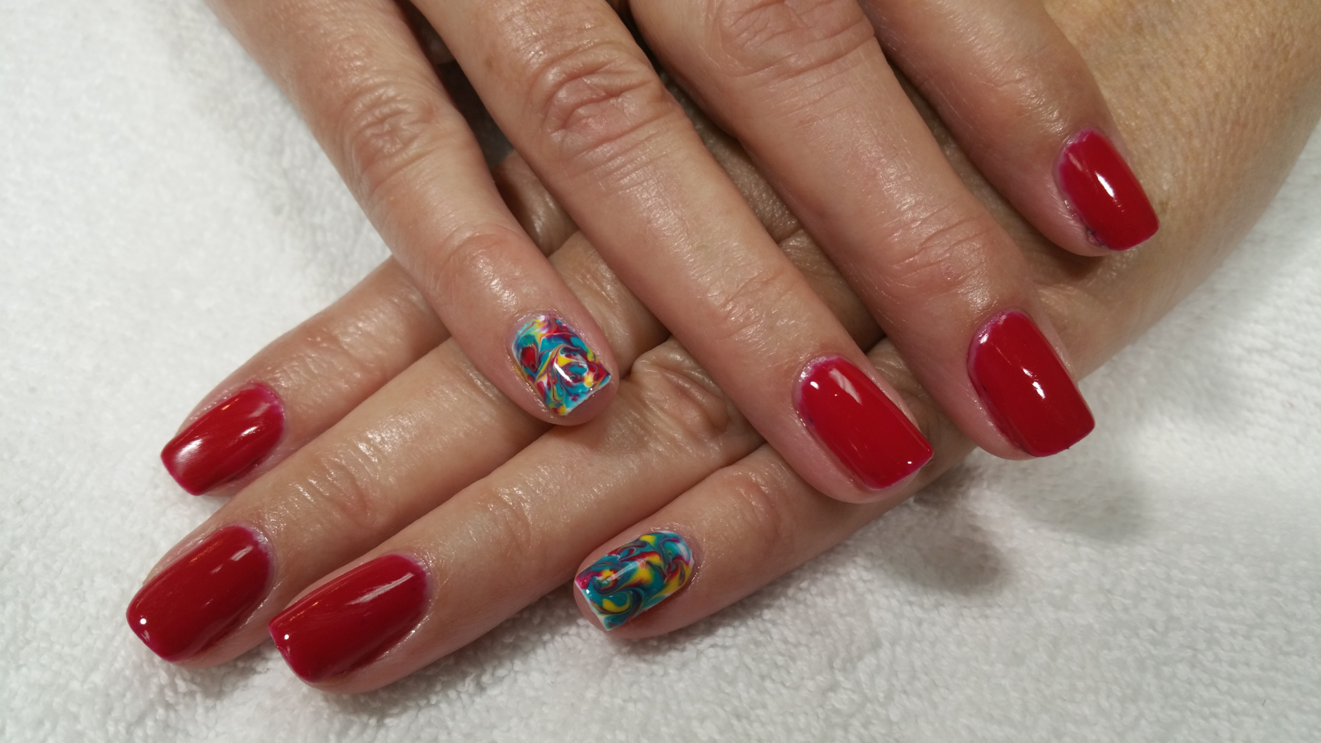 Gel Nail Polish, Manicure/pedicures - Blue Aruba Nails ...
