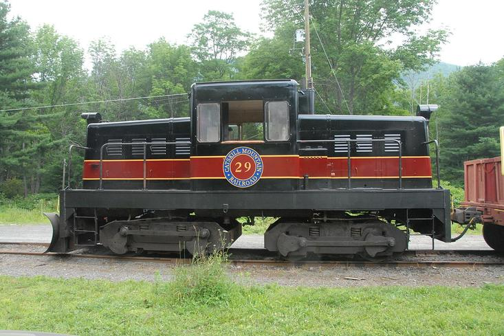 CMRR Locomotive No. 29.