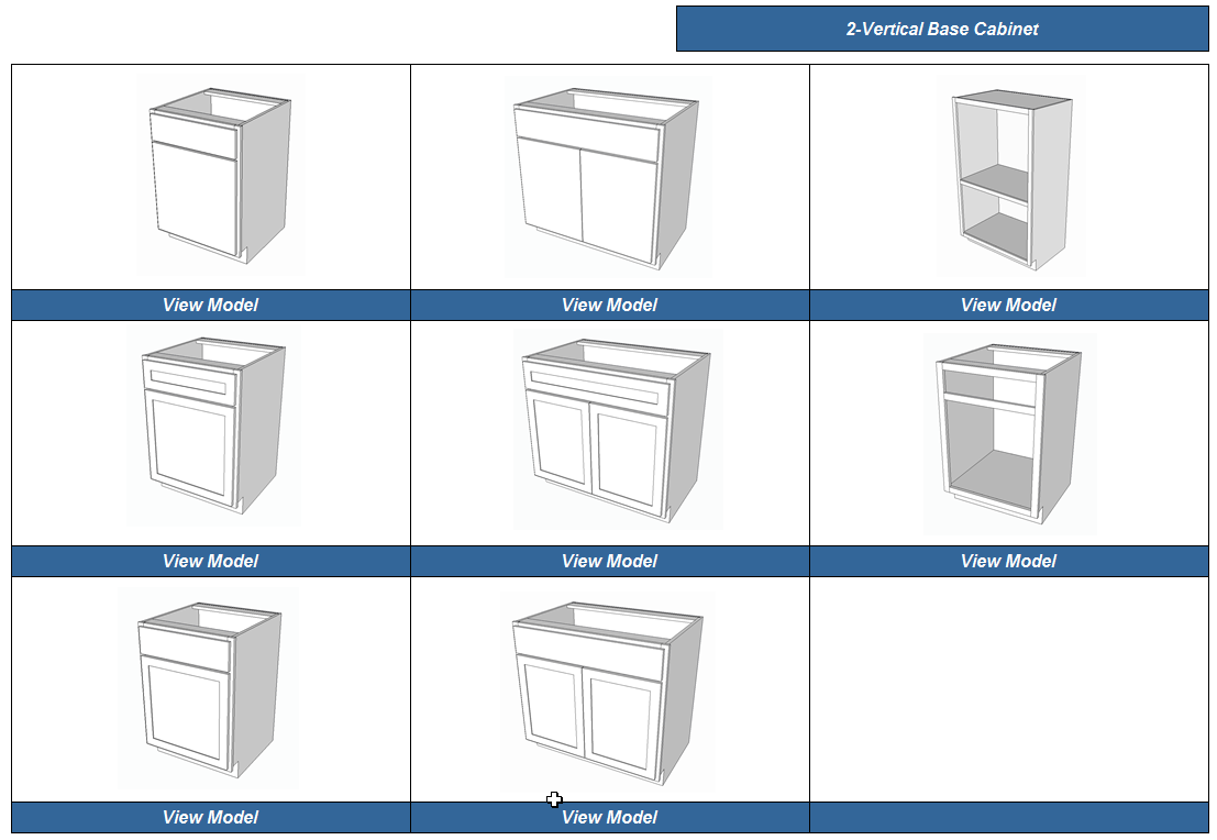 Cabinetview 3d Cabinet Building And Design Software Based On Google Sketchup