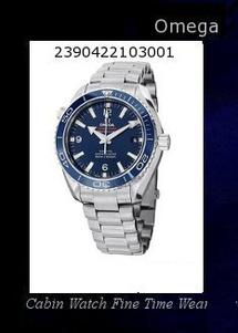 Watch Information Brand, Seller, or Collection Name Omega Model number 232.90.46.21.03.001 Part Number 232.90.46.21.03.001 Item Shape Round Dial window material type sapphire-crystal Display Type Analog Clasp Deployment Buckle Case material Titanium Case diameter 45.5 millimeters Case Thickness 17 millimeters Band Material Titanium Band length 8 inches Band width 22 millimeters Band Color Silver, Titanium Dial color Blue Bezel material Uni-directional Rotating Titanium with a Blue Cera Bezel function Unidirectional Rotating Bezel Calendar Date display at the 3 o'clock position Special features Calendar: Date Displays at 3 o'clock position, Bezel:Unidirectional Rotating Bezel, Crystal Material: Domed scratch-resistant sapphire crystal with anti-reflective treatment on both sides, Hours, Minutes, Small Seconds, Power reserve: 60 hours , Helium escape valve, Date, Liquidmetal®, Water Resistance: 60 bar (600 metres / 2000 feet) Movement Swiss automatic Water resistant depth 600 Meters