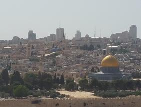 View over Jerusalem by Craig Lawrence Gurkha author