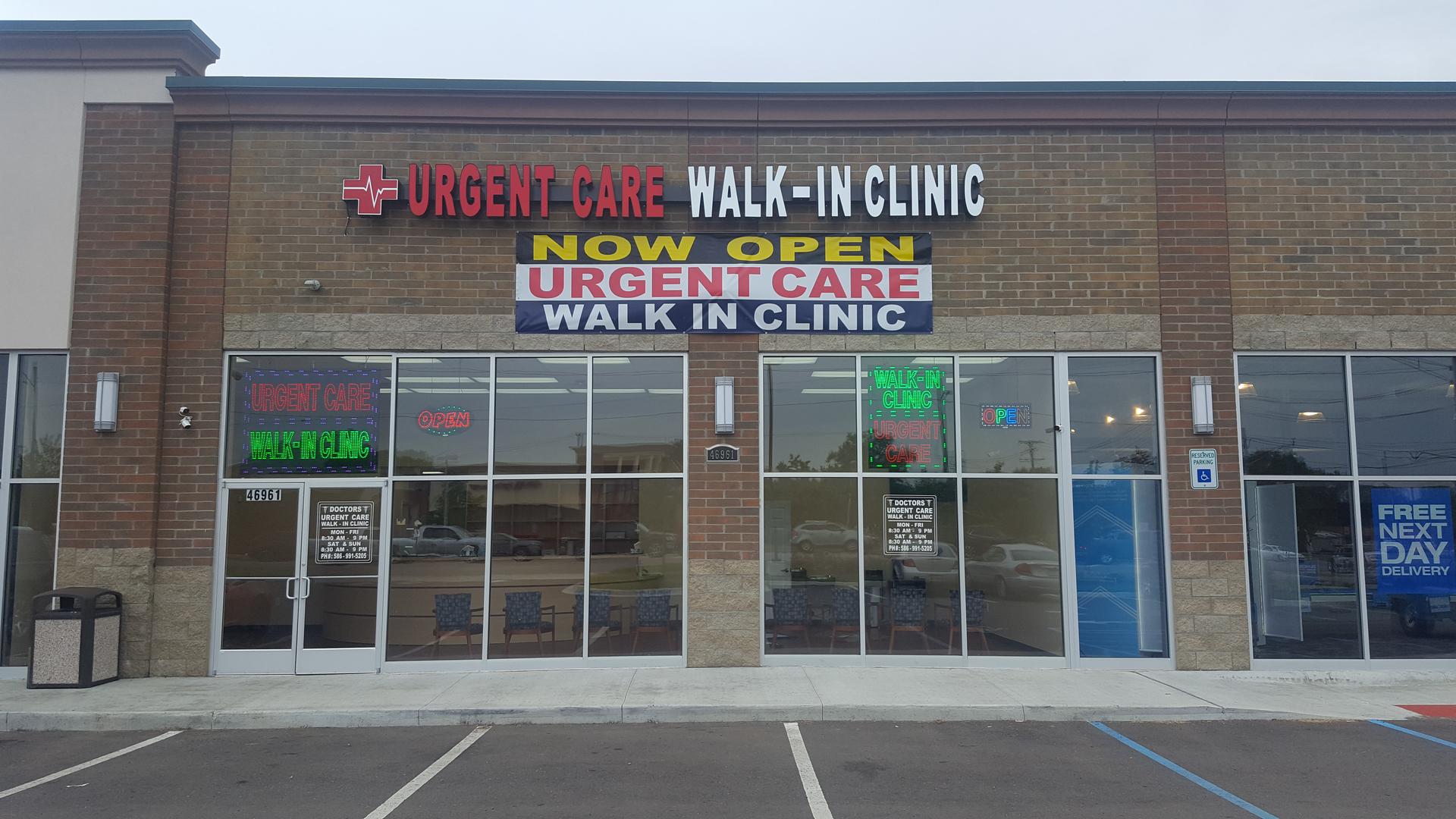Doctors Urgent Care Walk-in Clinic - Urgent Care Clinic in
