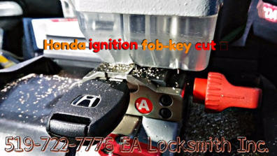 Ignition key duplication on site and fob replacement