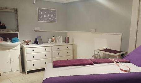 The Olive Rooms beauty and therapy treatment room