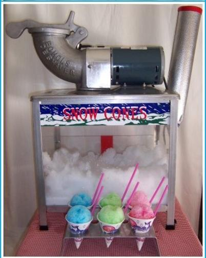 snow cone machine rental nashville tn