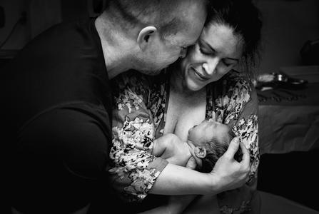 Birth Photography captures the joyous welcome of second son at Abbotsford Hospital
