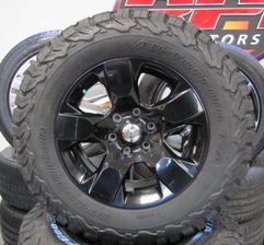 "2019 RAM BLACK 18"" WHEELS BFG KO2 TIRES"