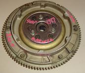 253-7987M Used Mariner flywheel assembly (E, EL, and ET) for a 1987 40 hp Mariner outboard motor 2 cyl 253-7987M