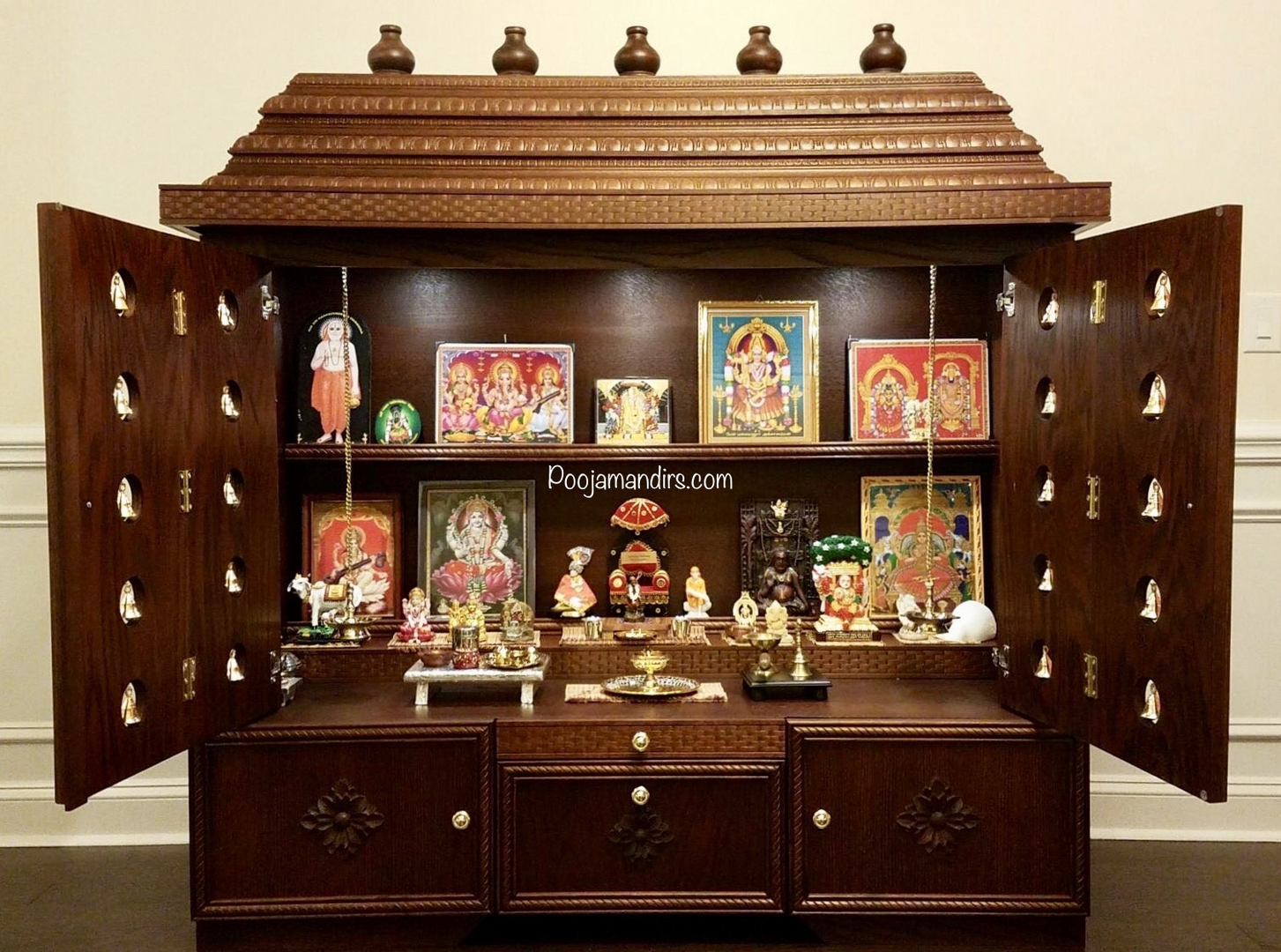 Emejing Pooja Mandir Designs For Home Images Decoration