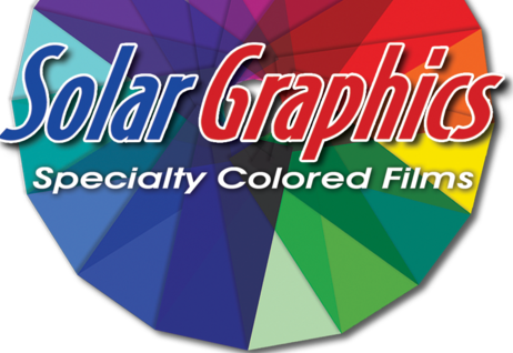 Solar Graphics Colored Films color wheel logo picture image