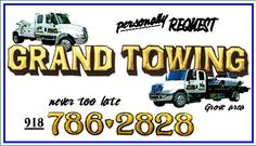 Grand Towing Grove OK