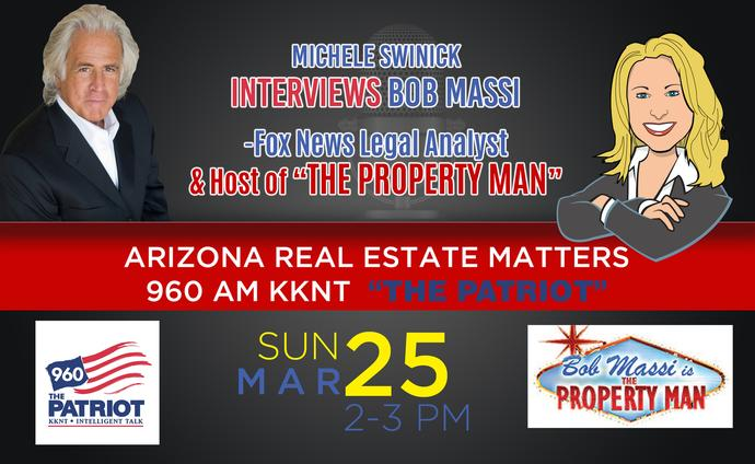 "Bob Massi - The Property Man - 960am ""The Patriot"""