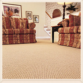 Dawson's Quality plush carpet and hardwood floors