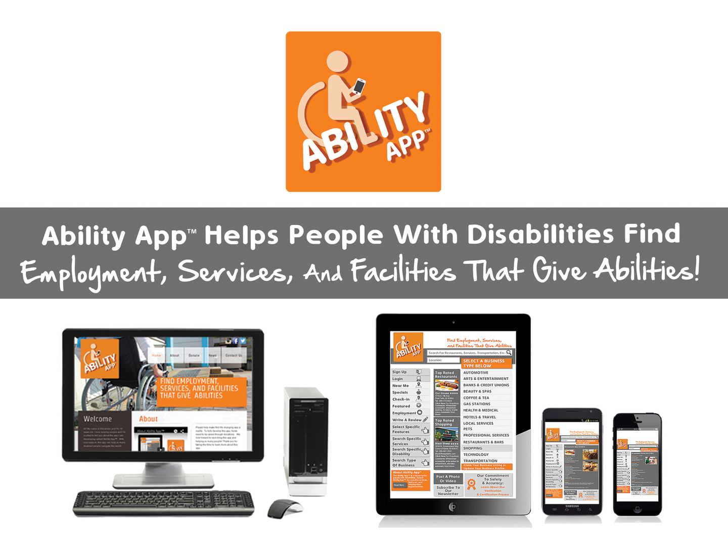 ability app home page