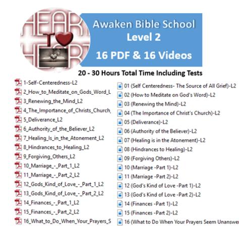 Awaken Free Discipleship Bible School