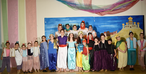 The Theatre Guild of Hampden Presents Aladdin Jr.