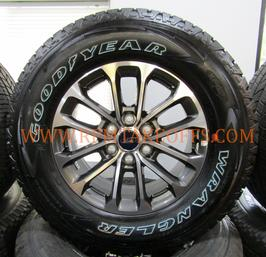 Ford F-150 FX4 takeoff wheels and tires michelin