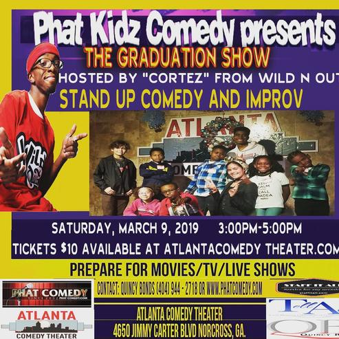 Phat Kids Atlanta Comedy Uptown Comedy Punchline Comedy