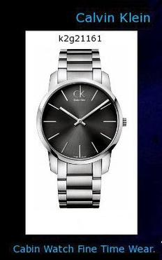 Watch Information Brand, Seller, or Collection Name Calvin Klein Model number K2G21161 Part Number K2G21161 Model Year 2011 Metal stamp no-metal-stamp Case diameter 43 millimeters Case Thickness 7 millimeters Band width 22 millimeters Dial color Black Item weight 77.2 Pounds Movement Quartz