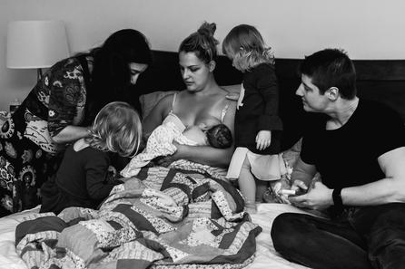 Birth photographer Jennifer Strilchuk captures sweet moments after Abbotsford home birth