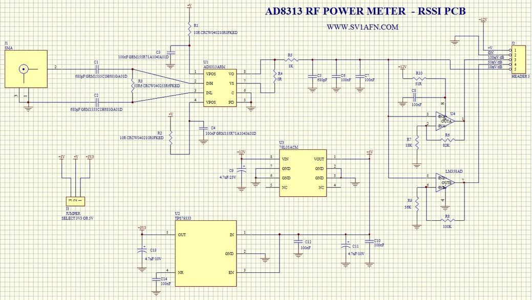 usb power supply schematic power module schematic