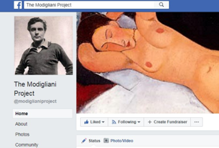 Modigliani Facebook Page