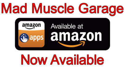 Amazon Apps Link to Mad Muscle Garage App