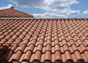 Houston roof contractor clay tile installation; clay tile roof installation in Houston; residential roof installation in Houston; Houston roof contractor
