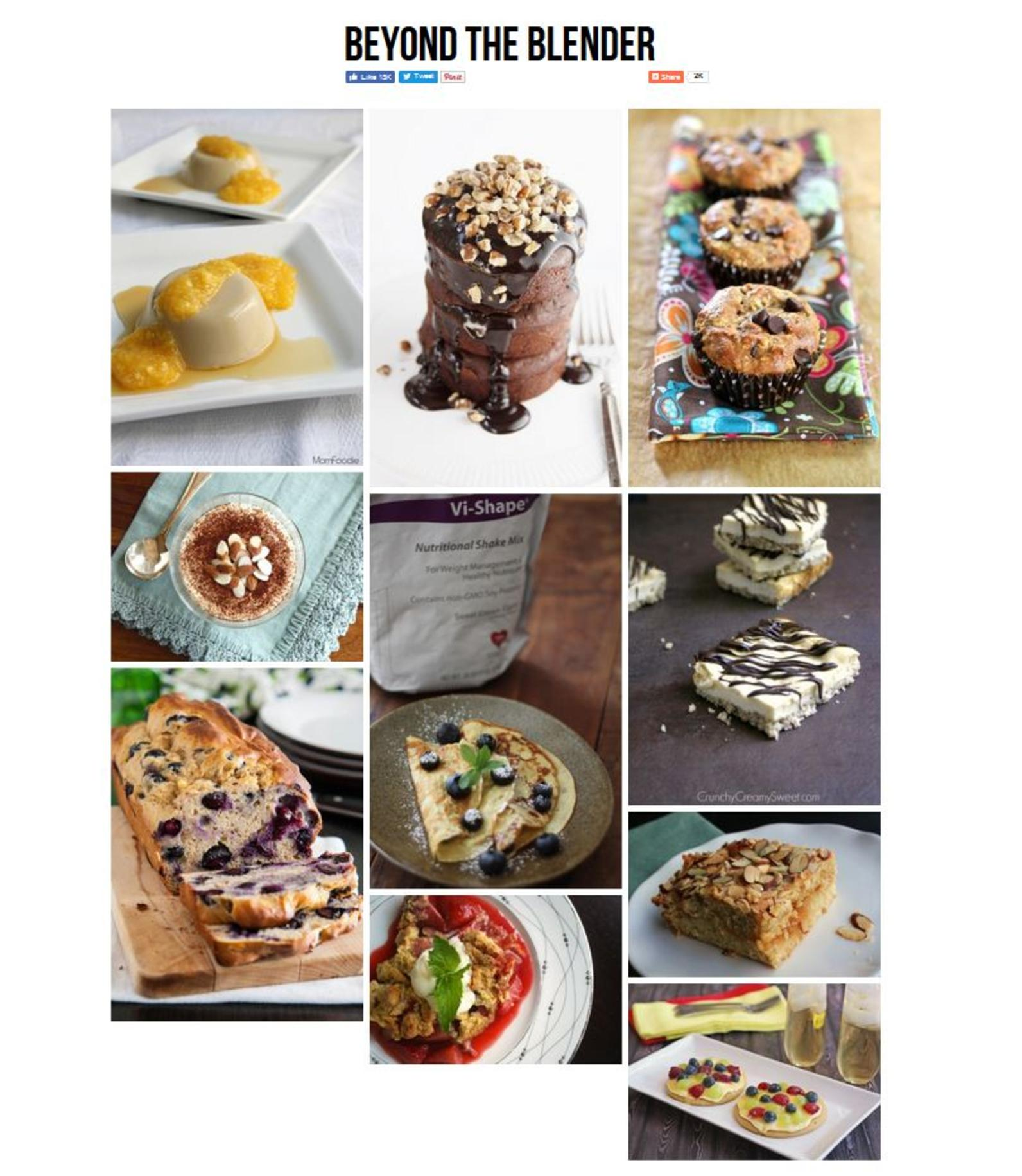 The Hard Thing About Dieting Is Many Think They Have To Give Up Baking While Trying To Lose Weight. Click These Images To Get These Healthy Baking Recipes. More Recipes Can Be Found At www.beyondtheblender.com