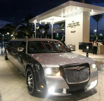 Chrysler 300 Wedding Limo Service