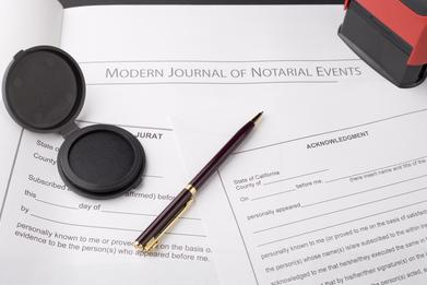 Notary Public Services in Montebello