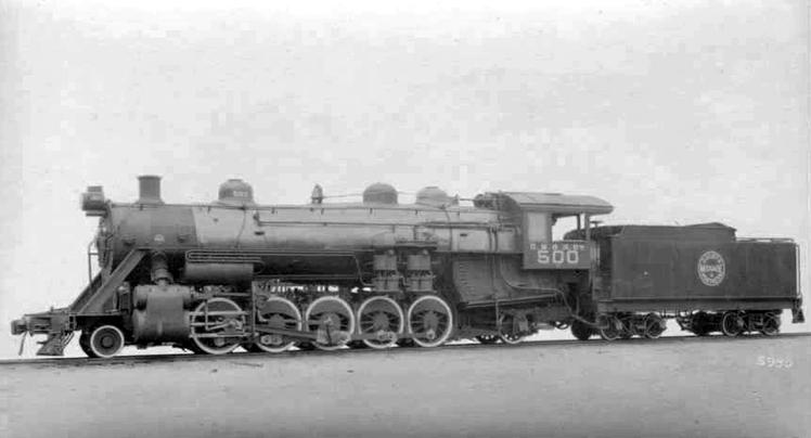 Duluth, Missabe and Northern Railway Class E No. 500