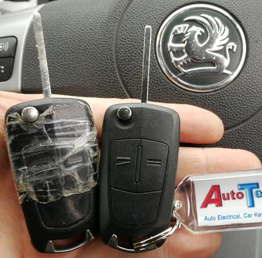 Replacement remote keys for: Vauxhall Astra Van - Vauxhall Combo Van Vauxhall Corsa Van