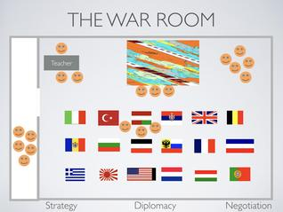 War Room World War 1 Map Activity