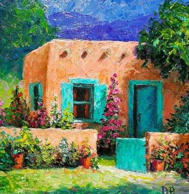Natural Accents Gallery of Taos - Exhibiting the works of Dennis Parker, Oils