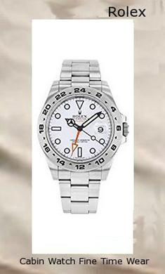 Rolex Explorer II White Dial Stainless Steel Rolex Oyster Automatic Mens Watch 216570WSO ,rolex yacht master