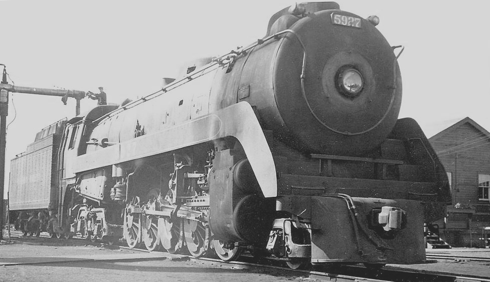 2-10-4 Texas Steam Locomotive